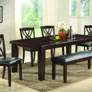 2216 - 6 Pcs Dinette Set with Extension (Walnut)