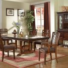 Z100 – Zion 7 Pcs Dining Set w/ Nail Heads and Table Extension