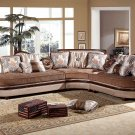605 – Bellagio Traditional 3 Pcs Living Room Sectional