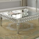 T1840 – Sophie Silver Mirrored Living Room Coffee Tables