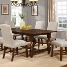 H01 – Hoover Transitional Walnut Color Dining Set