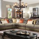 1613 – Naperville 4 Pcs Living Room Sectional (Autumn Bronze)