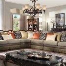 1613 – Naperville 4 Pcs Living Room Sectional (Autumn Bronze)