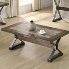 DX1520 – Dark Oak w/ Nail Heads Living Room Coffee Table