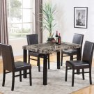 CD037 – Melissa 5 Pcs Marble Dining Set