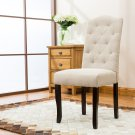 5086 – Spartanburg Upholstered Beige Dining Side Chairs (Set of 2)