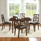 D13360 Contemporary 5 Pcs dinette set