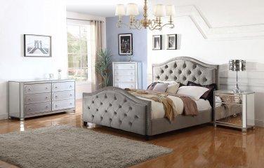 T1860 � Maya 4 Pcs Contemporary California King Bedroom Set