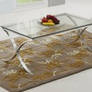 GW118 – Cosmopolitan Modern Living Room Glass Coffee Table