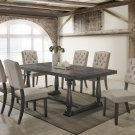 Katrina Weathered Gray 5 Pieces Dining Set