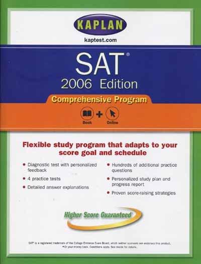 Kaplan SAT, 2006 Edition : Comprehensive Program