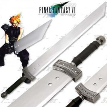 """Final Fantasy Cloud Buster Sword 42"""" With Stand & Sheath"""