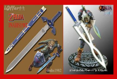 ZELDA MASTER SWORD + ZELDA FIERCE DEITY'S MASK (2 PCS)