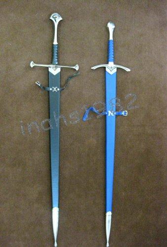 LORT Anduril Sword of Aragorn + LOTR Glamdring Sword of Gandalf