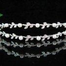 wedding tiara bride bridesmaid accessories silver alloy crystal headband regal533AB