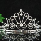 wedding tiara bride bridesmaid accessories crystal headpiece regal imperial comb 1589
