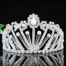 wedding tiara bride bridesmaid accessories crystal headpiece regal imperial comb 6954