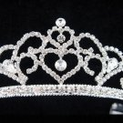 wedding tiara bride bridesmaid accessories crystal sweetheart regal imperial comb 470S