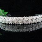 bridal bridesmaid wedding tiara bridal accessories crystal headband regal imperial comb 7111S