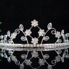 wedding tiara bridal accessories crystal handmade tiara,silver regal imperial comb g300