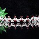 wedding tiara bridal accessories silver serpent crystal headpiece regal imperial comb 403R