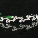 Bridal accessories wedding hair tiara crystal alloy headband ,headpiece regal imperial comb SJ1473S