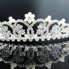 Wedding accessories;bridal pearl headpiece bridesmaid silver imperial; fancy headband 531