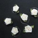 6 pcs handmade Wedding hair accessories;bridal yellow rose hairpin bridesmaid curly daisy pin HP34y