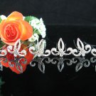 6 pc Wedding hair accessories;bridal handmade hairpin bridesmaid alloy tiara veil pin comb ckh123