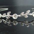 Bridal accessories; wedding tiara; aloy crystal handmade headband ; elegant headpiece kc1196
