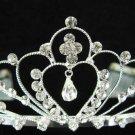 Bridal accessories; wedding tiara;rhinestone handmade sweetheart headpiece;crystal headband 960
