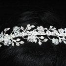 Bridal handmade accessories; wedding tiara;rhinestone headpiece; alloy crystal headband 1195