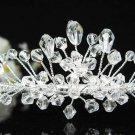 Bridal accessories; wedding tiara;rhinestone headpiece;crystal handmade shine imperial 7785