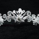 Bridal accessories; wedding tiara;rhinestone headpiece;crystal handmade shine imperial 9216
