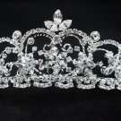 Bridal accessories handmade alloy wedding tiara;rhinestone headpiece;crystal shine imperial 93186