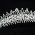 Bridal hair accessories;wedding tiara handmade rhinestone swarovski crystal imperial 617