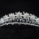 Handmade Bridal hair accessories;wedding tiara ,swarovski daisy crystal regal 2122