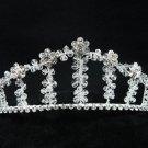 Bridal hair accessories;wedding tiara; handmade swarovski sparkle crystal regal 2421