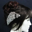 wedding tiara bridal hair accessories rhinestone silver alloy crystal phoneix bridal comb SL1922