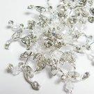 wedding tiara bridal hair accessories rhinestone silver floral crystal alloy small bridal comb 1852