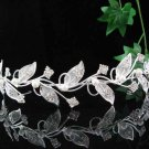 Crystal bridal headband,woman hair accessories,wedding tiara veil,rhinestone headpiece veil 3788w