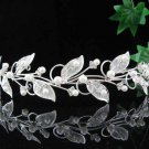 Bridal headband,bridesmaid hair accessories,wedding tiara veil,rhinestone band 3788w