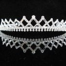 Swarovski bugle Bridal tiara ,bridal hair accessories,wedding tiara rhinestone veil 2005