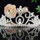 Bridal headpiece bridal accessories wedding tiara rhinestone veil 2533