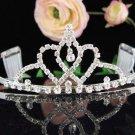 Bridal headpiece,bridal hair accessories,wedding tiara rhinestone veil 3723