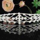 Bridal headpiece,bridal hair accessories,wedding tiara rhinestone veil 4420