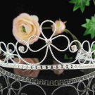 Bridal headpiece,bridal hair accessories,wedding tiara rhinestone veil 4872
