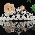 Bridal headpiece,bridal hair accessories,wedding bridesmaid tiara rhinestone veil 5001
