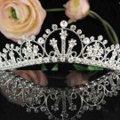 Bridal headpiece veil,bridal hair accessories,wedding rhinestone bridal tiara 6544
