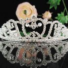 Bridal headpiece veil,bridal hair accessories,wedding rhinestone bridal tiara 8498